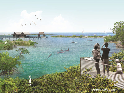 National Aquarium's proposed rendering of what a potential site could look like, courtesy of Studio Gang.