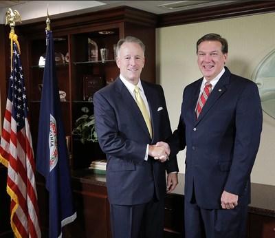 Left - John C. Lee, IV ; Right - Gary R. Shook