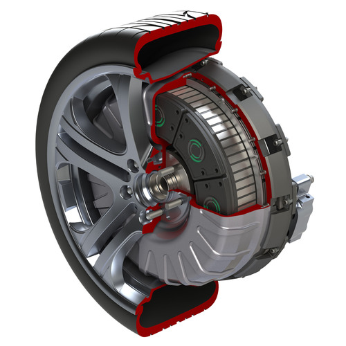Protean Electric's in-wheel electric drive named one of Car and Driver 10 Most Promising Technologies for 2013.  (PRNewsFoto/Protean Electric)