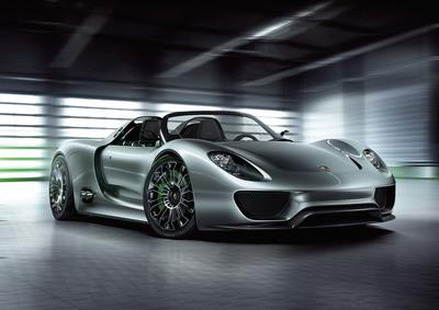 Porsche 918-1.  (PRNewsFoto/Porsche Cars North America, Inc.)
