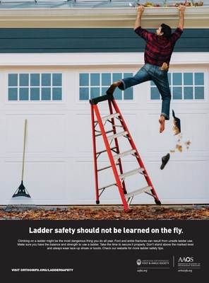 Ladder safety should not be learned on the fly