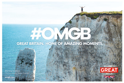 "National tourism board, VisitBritain, launches its 2016 campaign, ""Home of Amazing Moments"" which encourages Americans to share their own memorable moments in Britain and the unforgettable experiences that visitors can expect on a trip to the UK."