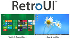 RetroUI(TM) Allows You to Automatically Return to a Classic Windows Desktop at Login.  (PRNewsFoto/Thinix)