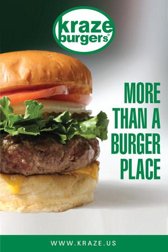 Kraze Burger (PRNewsFoto/AIRMALL USA) (PRNewsFoto/AIRMALL USA)