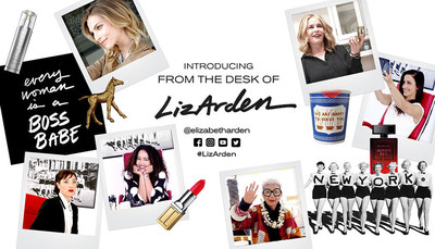 Introducing @ElizabethArden's new digital campaign, From The Desk of #LizArden, featuring Chelsea Handler, Iris Apfel, Mia Moretti, Gabi Fresh, Shoshanna Gruss and Karlina Caune