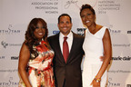 Star Jones, Matt Proman, and Robin Roberts at NAPW 2014  (PRNewsFoto/NAPW)