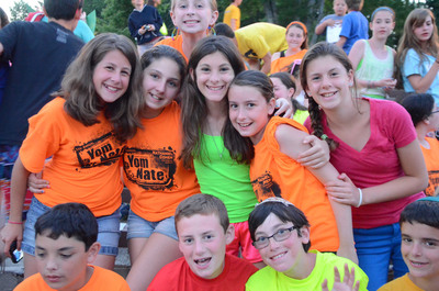 Not a member of a synagogue but still interested in Jewish summer camp? The new OpenDoor Ramah program may be right for you.  (PRNewsFoto/Camp Ramah)