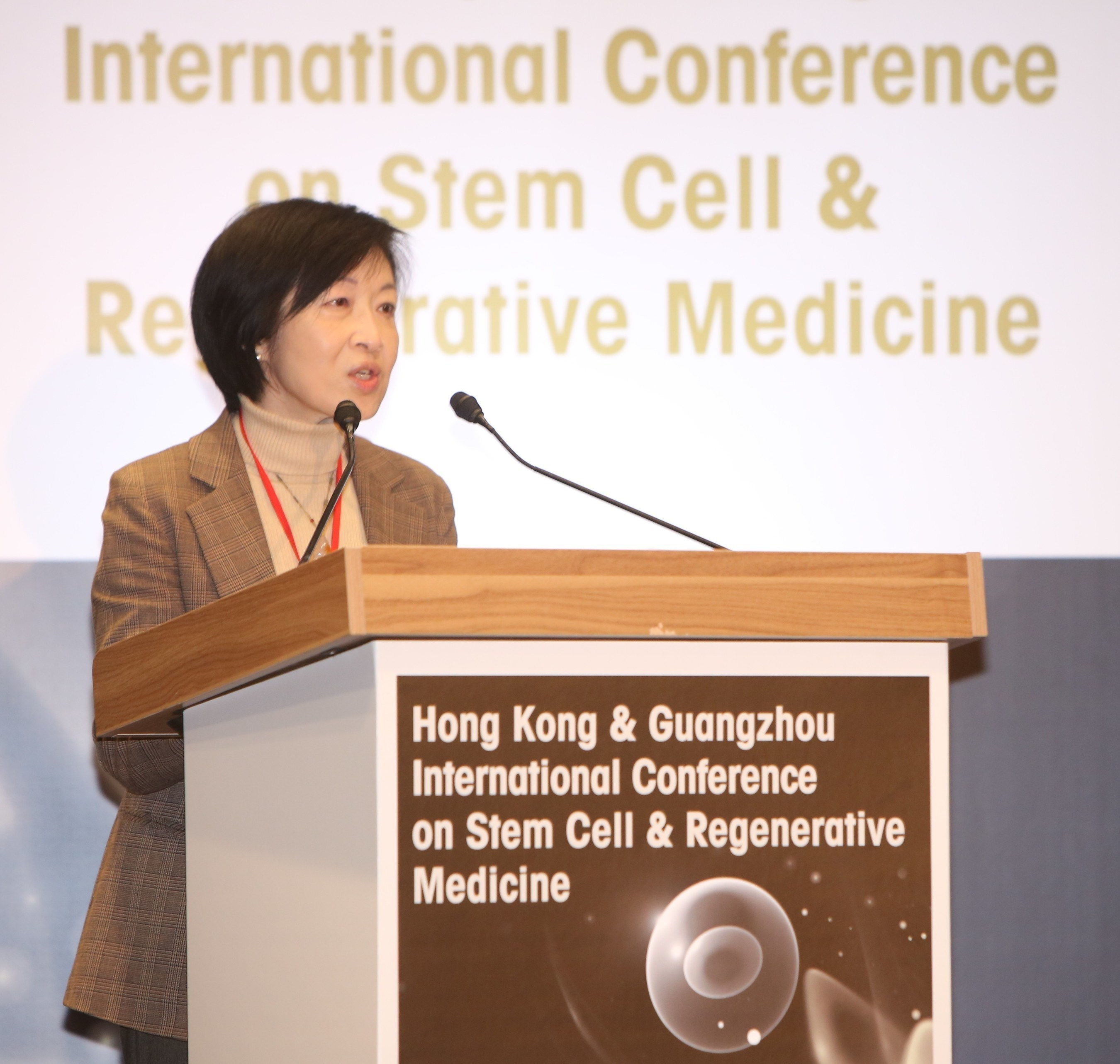 The Hon. Fanny Law, GBS, JP, Chairperson of HKSTP remarks that Hong Kong is well-positioned to become an Asian ...