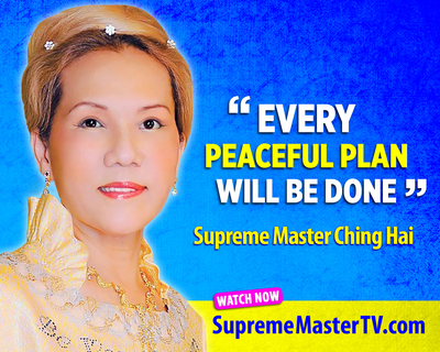 Supreme Master Ching Hai, spiritual teacher and humanitarian, advocates peace.  (PRNewsFoto/Supreme Master Television)