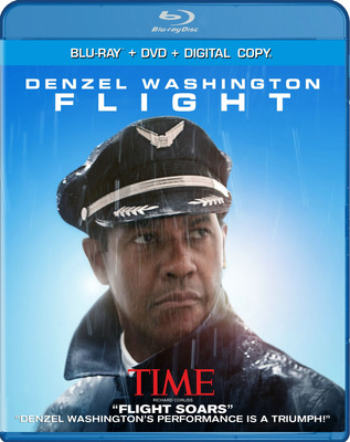FLIGHT starring Academy Award(R)-Winner Denzel Washington and Directed by Oscar(R)-Winner Robert Zemeckis lands on Blu-ray & DVD February 5, 2013.  (PRNewsFoto/Paramount Home Media Distribution)