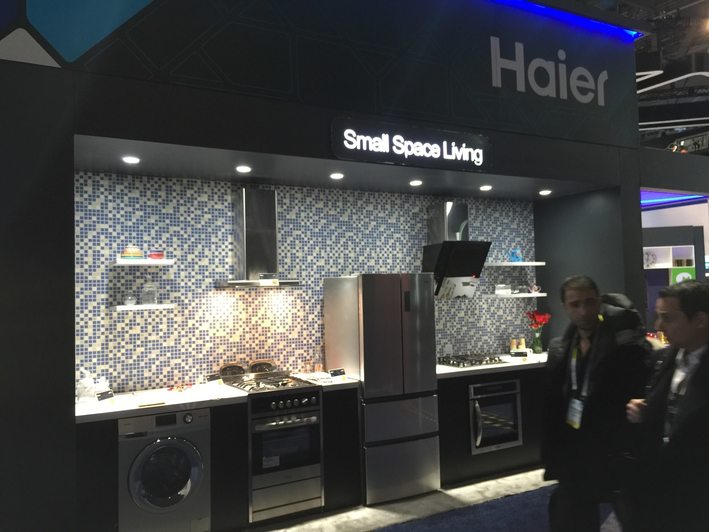 """Chinese Electronics Manufacturer Haier Showcases Scenario-based Solutions Including the """"Small Apartment, ..."""