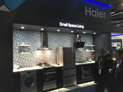 """Chinese Electronics Manufacturer Haier Showcases Scenario-based Solutions Including the """"Small Apartment, Large Kitchen"""" Suite At CES 2016"""