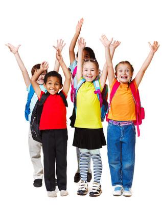 Four million children will enter kindergarten this year.  (PRNewsFoto/Child Trends)