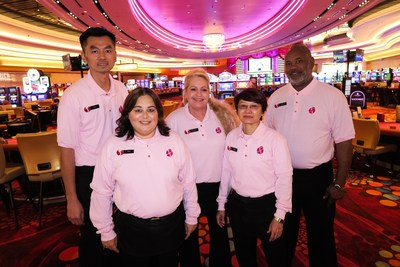 Scarlet Pearl Casino Resort Thinks Pink For October.