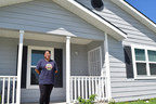 A $4,000 Homebuyer Equity Leverage Partnership grant from Texas Capital Bank and the Federal Home Loan Bank of Dallas provided Brenda Guerrero with down payment assistance and helped with closing costs on a new home built by Habitat for Humanity of San Antonio.