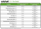 Cricket Wireless 2016 Tax Deals