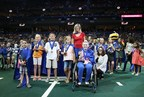 St. Joseph's Children's Hospital and the Tampa Bay Storm recognize 18th Annual Kids Are Heroes nominees for their good deeds and heroic actions and present trophies to Top SuperHeroes during the Tampa Bay Storm's Community Cares Night at the Amalie Arena July 11, 2015.