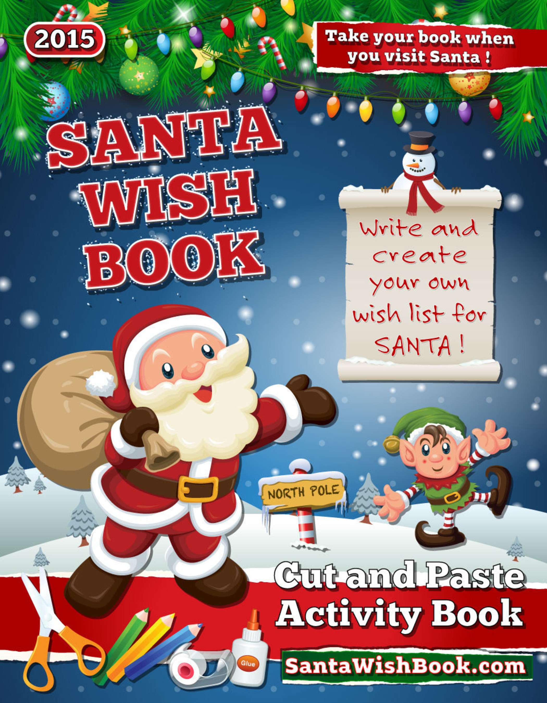 Make Holiday Memories With a Personalized, Educational Santa Wish Book
