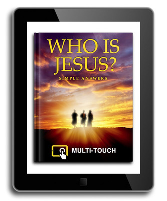 Who Is Jesus iPad cover.  (PRNewsFoto/Pastor Jared Oldenburg)