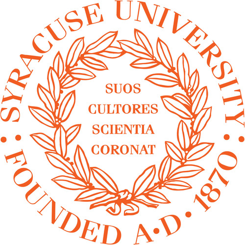 Syracuse University Logo. (PRNewsFoto/Syracuse University) (PRNewsFoto/SYRACUSE UNIVERSITY)