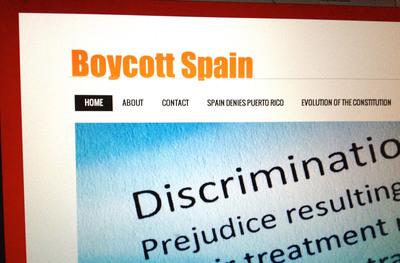 Boycott Spain.  (PRNewsFoto/Boycott Spain)
