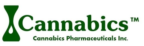 Cannabics Pharamaceuticals Logo (PRNewsFoto/Cannabics Pharmaceuticals Inc.)