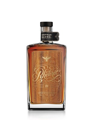 Orphan Barrel Whiskey Distilling Company Releases Rhetoric 21-Year-Old Kentucky Straight Bourbon Whiskey