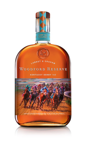 Woodford Reserve celebrates Kentucky Derby 140 with the release of its limited edition commemorative bottle ...