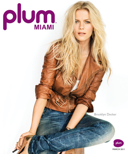 Plum Miami Magazine Launches With Star-Studded Issue