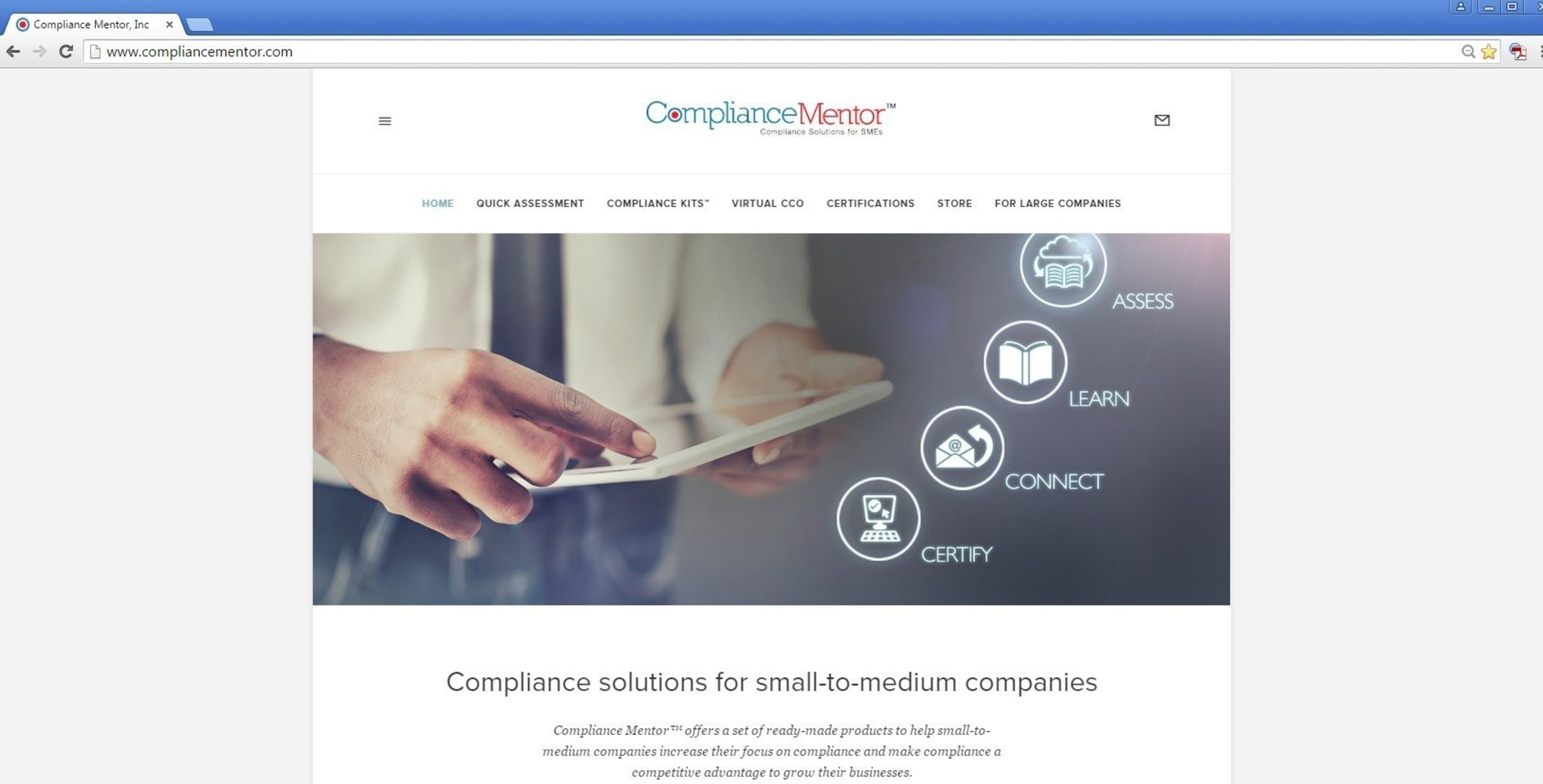 The Red Flag Group Partners with Compliance Mentor(TM), Which Provides Low-Cost Compliance