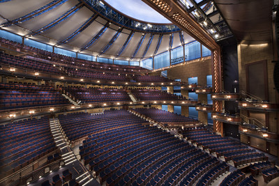 The Walt Disney Theater: Copyright Dr. Phillips Center for the Performing Arts; Courtesy of Arup