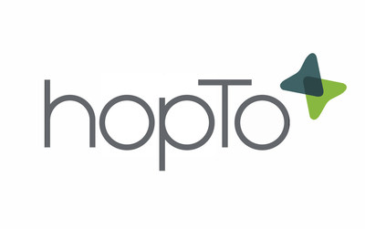 hopTo Logo. (PRNewsFoto/hopTo Inc.)