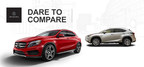 As the 2015 Mercedes-Benz GLA nears its arrival date at Loeber Motors, the dealership is providing comparisons against other new models in the compact crossover segment. (PRNewsFoto/Loeber Motors)