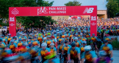 6,303 cyclists hit the road for the 37th Pan-Mass Challenge with the collective goal of raising $46 million for cancer research and treatment at Dana-Farber Cancer Institute.