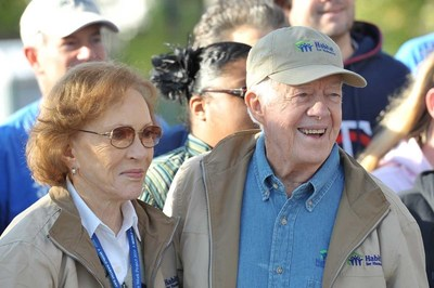 President Jimmy Carter and wife Rosalynn will travel to Nepal for Habitat for Humanity's 32nd annual Carter Work Project to build homes with 1,500 volunteers.