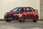 2015 Mitsubishi Lancer Evolution Final Edition Plaque US0001, 1 of 1600 produced.