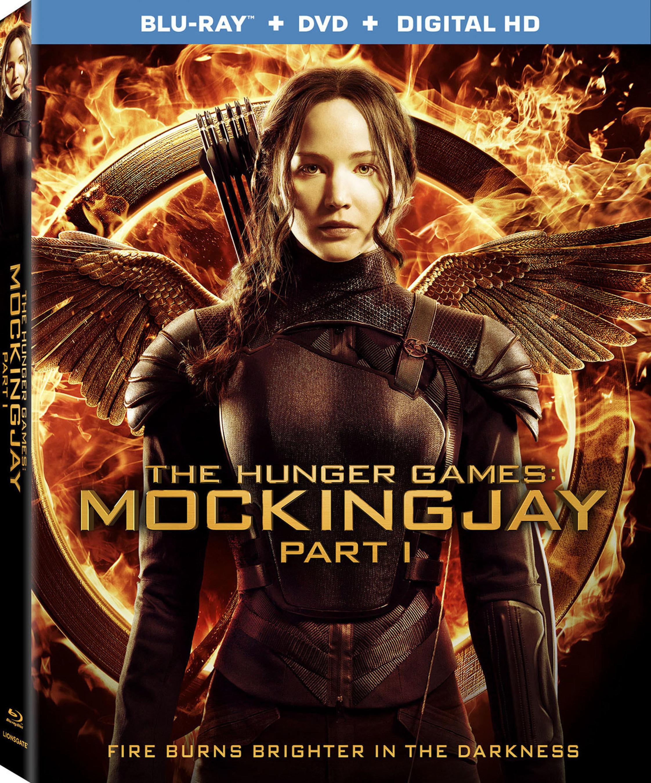 Mockingjay - Part 1 Blu-ray