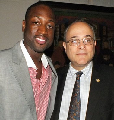 Attorney Jeffery M. Leving and Dwyane Wade. (PRNewsFoto/Law Offices of Jeffery Leving)