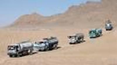 truck convoy. (PRNewsFoto/Corporate Whistleblower Center)