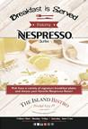 Breakfast is Served featuring Nespresso Coffee! (PRNewsFoto/The Island Bistro)