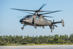 Sikorsky Aircraft's S-97 RAIDER(TM) helicopter achieved successful first flight at the Sikorsky Development Flight Center in West Palm Beach, Florida, May 22, 2015.