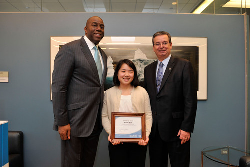 Northwestern University Junior is Honored by Sodexo for Her Work Fighting Hunger in Chicago Area