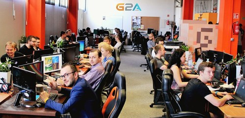 Some members of the G2A Developer Support Teams (PRNewsFoto/G2A.com)