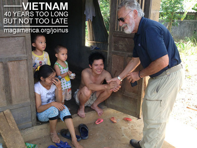 This year marks the 40th anniversary of the end of U.S. military involvement in Vietnam, but for many the war continues. Join Mines Advisory Group (MAG) America and Clear Path International (CPI) as we team up with Jonathan Goldsmith to clear landmines and bombs and assist accident survivors in Vietnam. It's been 40 years too long, but it's not too late. - See more at: www.magamerica.org/joinus.  (PRNewsFoto/MAG America)