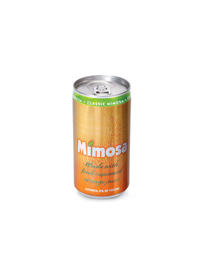 Southwest Wines of Deming, N.M., has launched Soleil Mimosa(TM) in a new sustainable, package for consumers on the go - a 187mL aluminum slim can from Ball Corporation.  (PRNewsFoto/Ball Corporation)