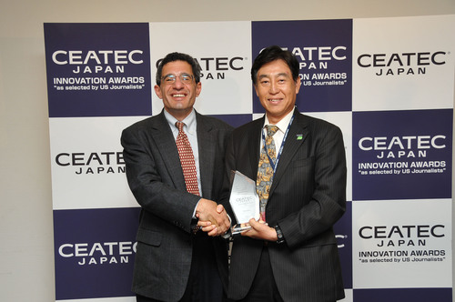 CEATEC 2010 Innovation Awards 'as Selected by US journalists' Presented at Ceremony Held October