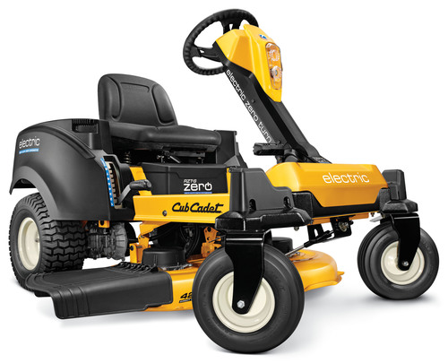 The Popular Mechanics Breakthrough Award winning RZT S ZERO from Cub Cadet is the first zero-turn riding mower ...