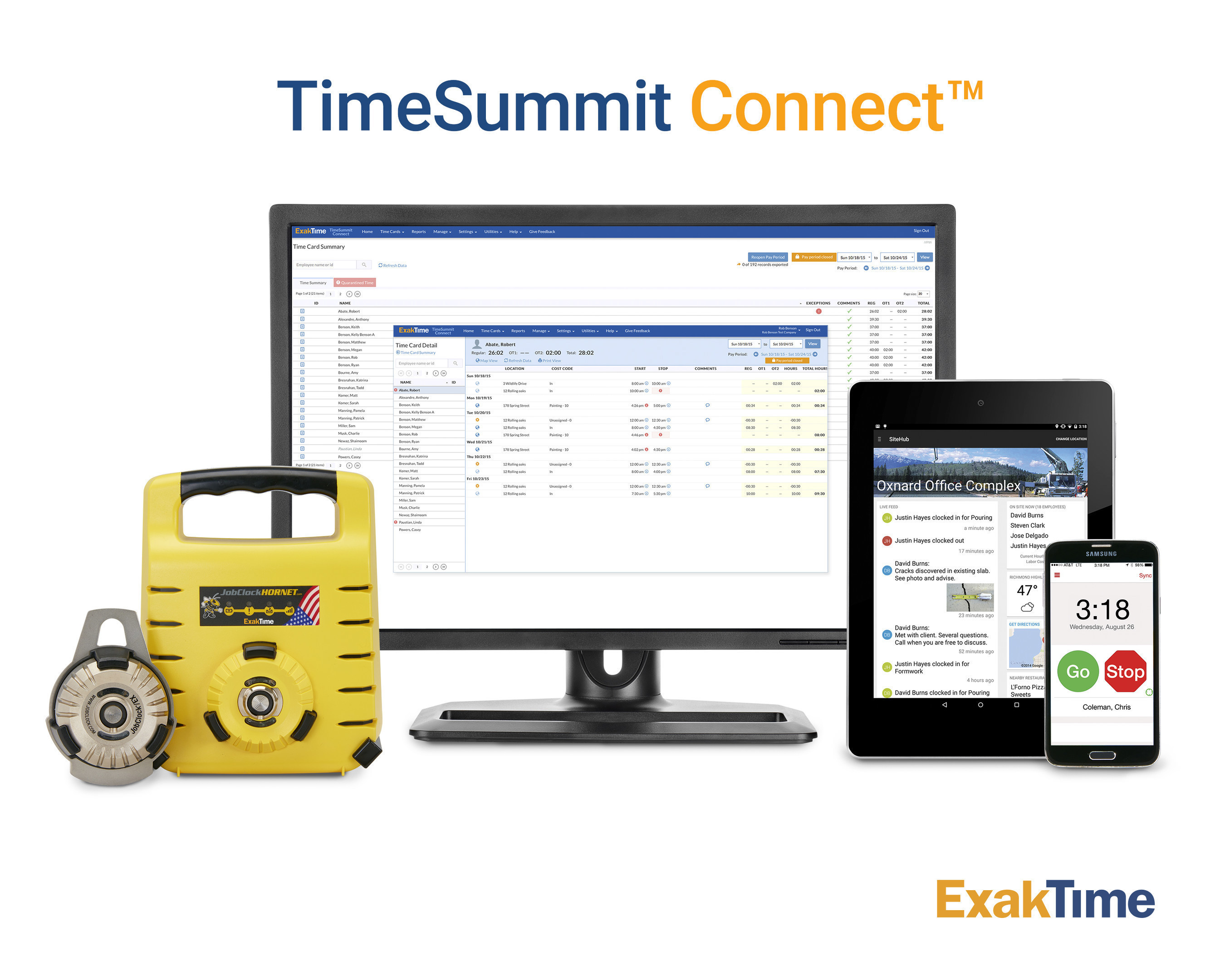 Web-based workforce management from anywhere, on any device