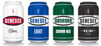 The Genesee Brewing Company introduces new packaging to Genesee Beer, Genesee Light, Genesee Cream Ale and Genesee Ice.