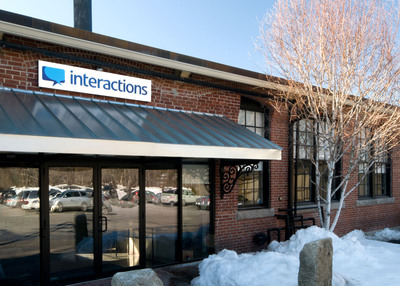 Interactions Corporation's new headquarters is located in Franklin, a Boston suburb.